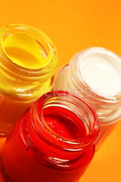 Paint Bottles Stock photo © janaka