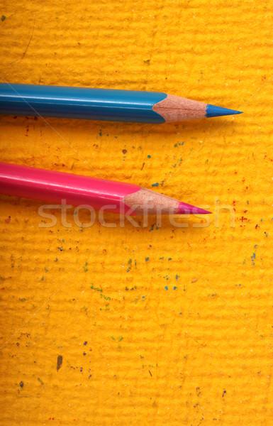 Colored pencils Stock photo © janaka