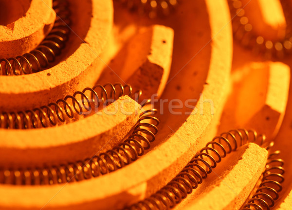 加熱 水 金属 業界 科学 ストックフォト © janaka