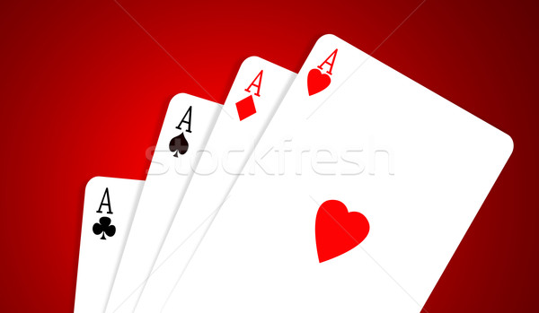 Aces Stock photo © janaka