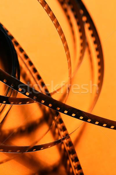 Film eski 8mm film şeridi sanat Stok fotoğraf © janaka