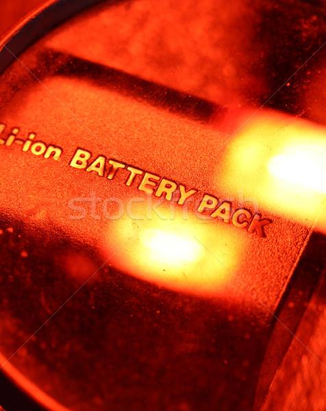 Bateria empacotar tecnologia ciência energia Foto stock © janaka