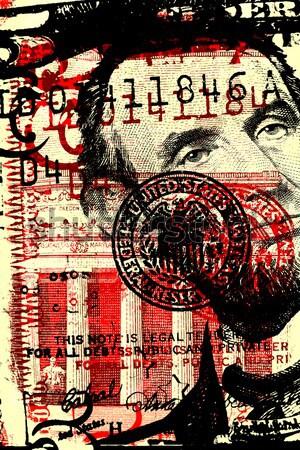 Abstract Us Dollar Stock photo © janaka