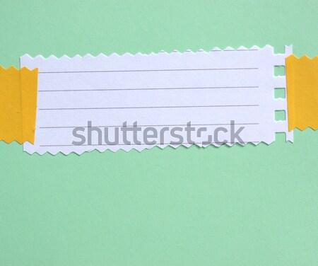 Notepad papier kantoor boek Stockfoto © janaka