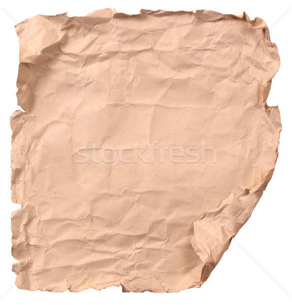 Handgemaakt papier textuur abstract natuur Stockfoto © janaka