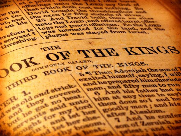 Bíblia antigo páscoa livro Foto stock © janaka