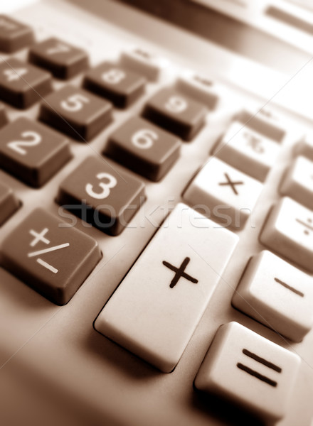калькулятор ключевые бизнеса служба технологий Сток-фото © janaka