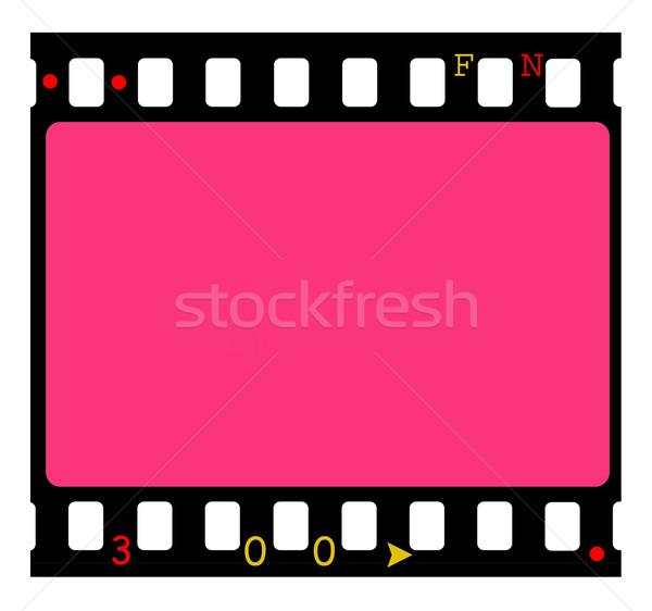 35mm film közelkép keret háttér kép Stock fotó © janaka