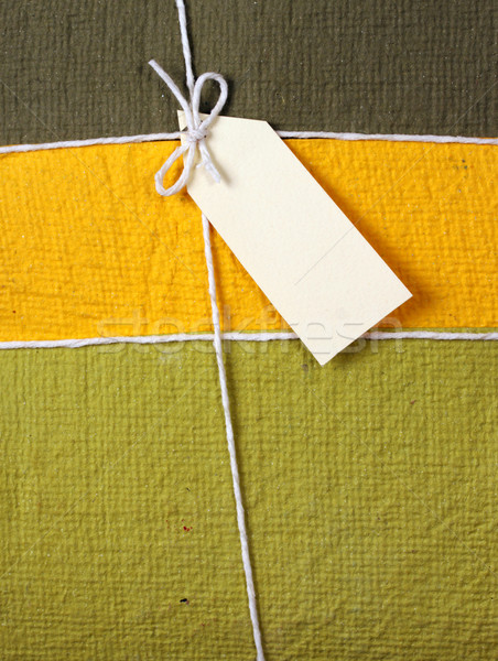 Ajándék doboz közelkép textúra buli boldog születésnap Stock fotó © janaka