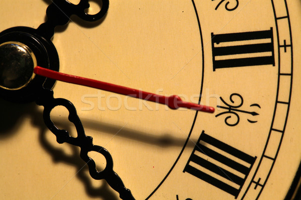 Old clock face Stock photo © janaka
