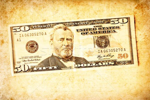 Dólar abstrato negócio papel fundo financiar Foto stock © janaka