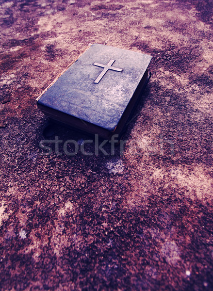 Holy bible book Stock photo © janaka