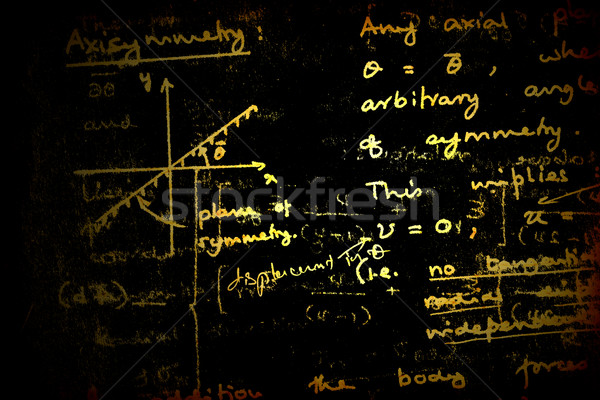 Mathematical background Stock photo © janaka