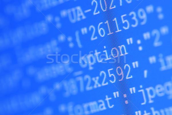 HTML codes Stock photo © janaka