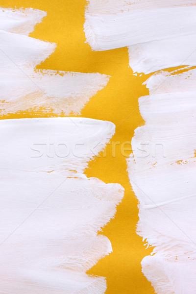 Stockfoto: Verf · abstract · kleur · inkt · borstel