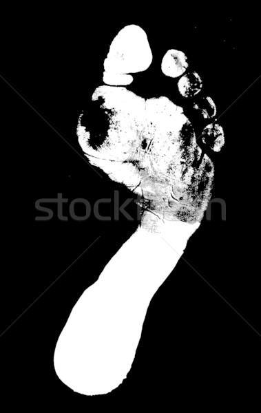 Foot print Stock photo © janaka