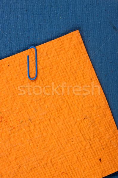 Kézzel készített papírok közelkép papír textúra absztrakt Stock fotó © janaka