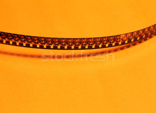 Film şeridi eski 8mm sanat sanayi Stok fotoğraf © janaka
