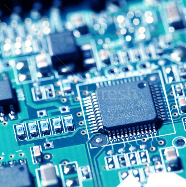 плате электронных интернет промышленности науки Сток-фото © janaka
