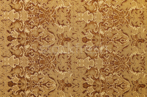 Kahverengi kumaş doku dizayn arka plan Stok fotoğraf © janhetman