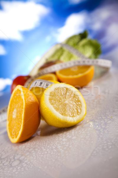 Dieta fitness alimentos deporte salud Foto stock © JanPietruszka