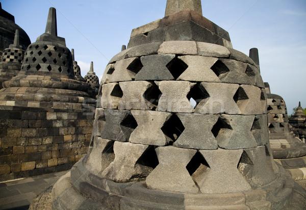Antigo budista templo Indonésia viajar adorar Foto stock © JanPietruszka