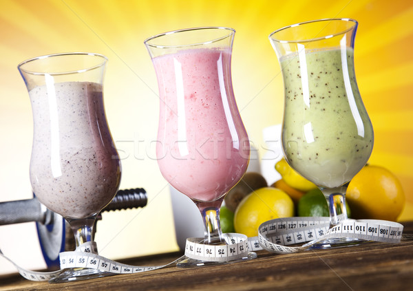 Fitness Cocktail, healthy and fresh Stock photo © JanPietruszka