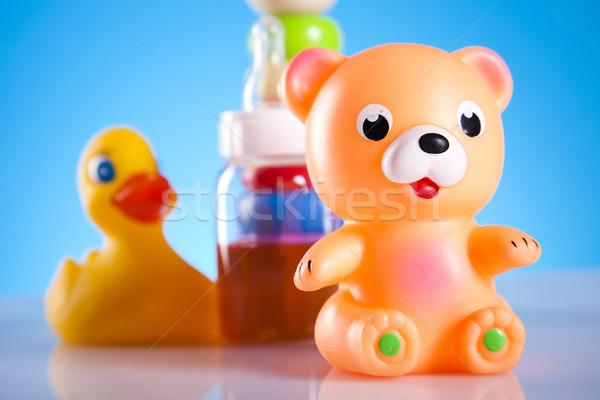 Baby toys, bright tone vivid composition Stock photo © JanPietruszka