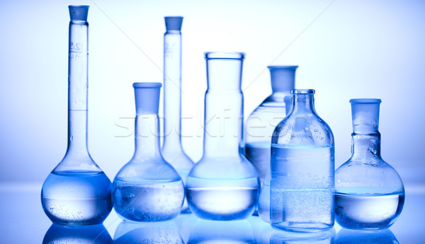 Laboratory glassware  Stock photo © JanPietruszka