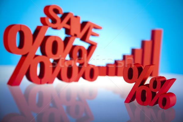 Salvare segno banca vendita affrontare tag Foto d'archivio © JanPietruszka