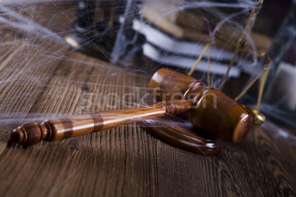 Foto d'archivio: Giudice · avvocato · giudice · oggetto · martelletto · asta