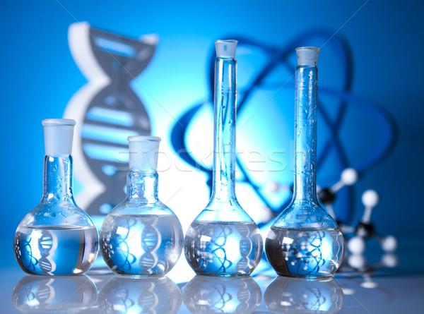 Сток-фото: исследований · химии · формула · медицина · науки · бутылку