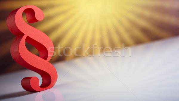 Absatz Zeichen Symbol natürlichen farbenreich Bildung Stock foto © JanPietruszka