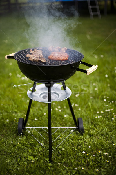 Grilling time, Grill, bright colorful vivid theme Stock photo © JanPietruszka