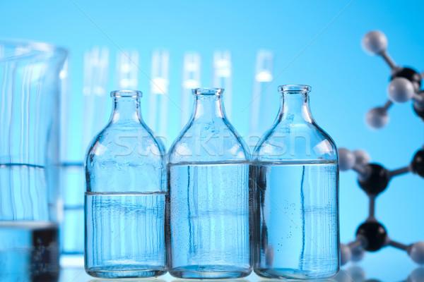 室 ガラス製品 実験 医療 ラボ 化学 ストックフォト © JanPietruszka