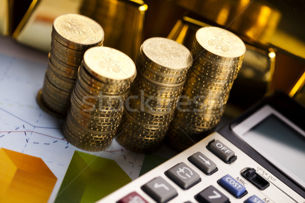 Coins background Stock photo © JanPietruszka