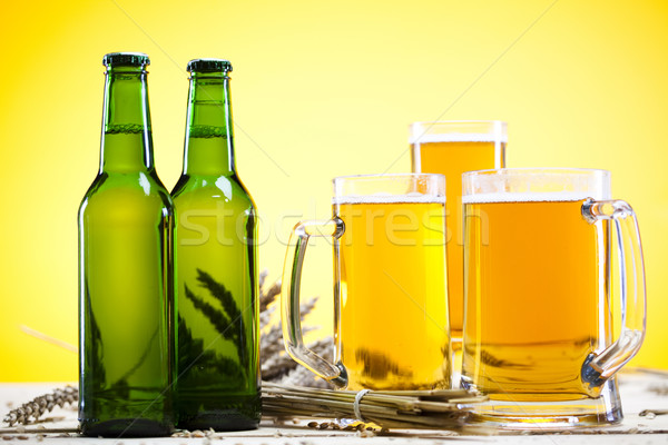 Still life with beer Stock photo © JanPietruszka