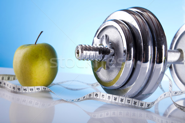 Fitness, dumbell   Stock photo © JanPietruszka