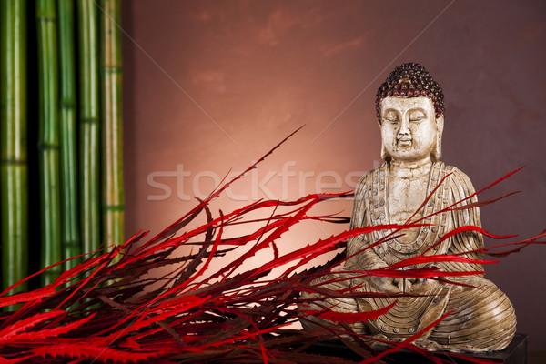仏 禅 太陽 煙 リラックス 礼拝 ストックフォト © JanPietruszka