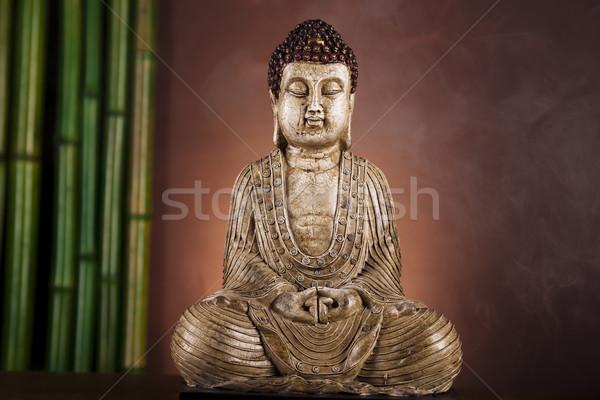 Zen of a buddha Stock photo © JanPietruszka