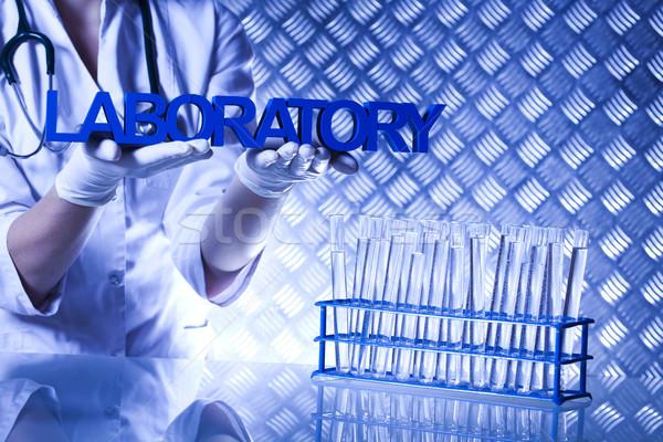 Kimya bitkiler laboratuvar deneysel tıbbi Stok fotoğraf © JanPietruszka