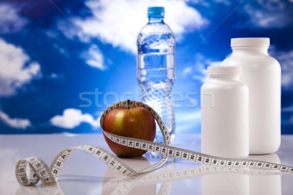 Supplement sport diet Stock photo © JanPietruszka
