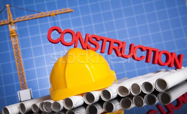 Edifici costruzione business costruzione finanziare immobiliari Foto d'archivio © JanPietruszka