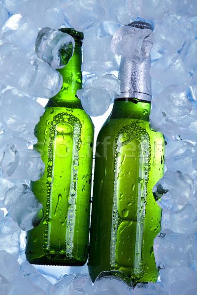 Sör jég fényes vibráló alkohol buli Stock fotó © JanPietruszka