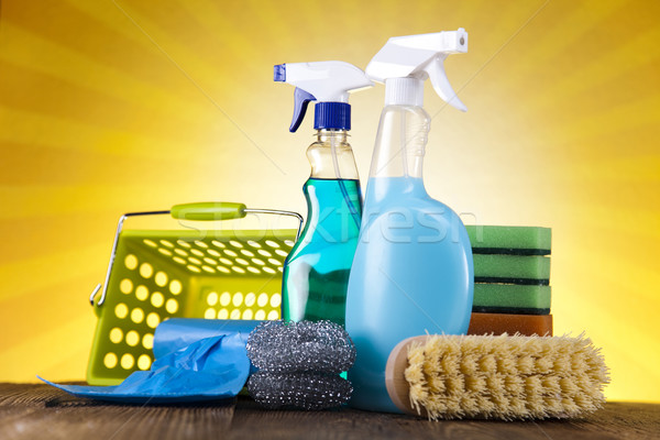 Group of assorted cleaning  Stock photo © JanPietruszka