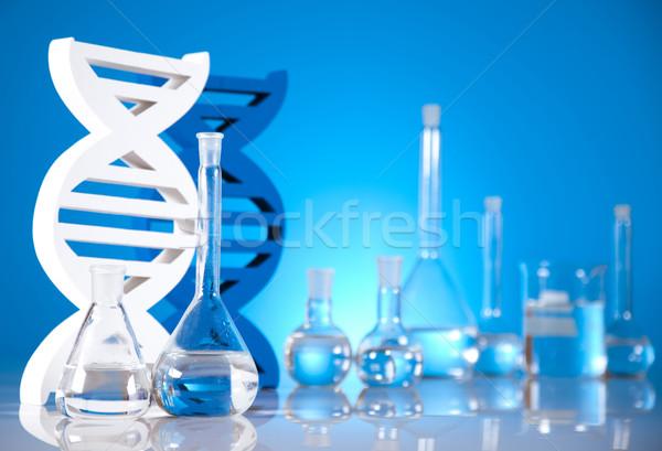 DNA molecules, Laboratory Stock photo © JanPietruszka