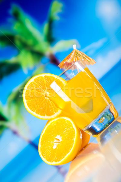 Stockfoto: Cocktails · alcohol · drinken · natuurlijke · kleurrijk · voedsel