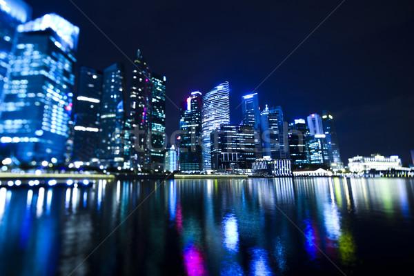 Buildings in perspective, travel vivid theme Stock photo © JanPietruszka