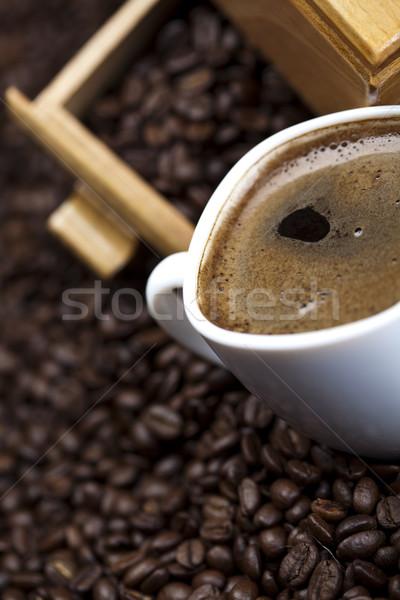 カップ コーヒー 明るい テクスチャ 食品 ストックフォト © JanPietruszka