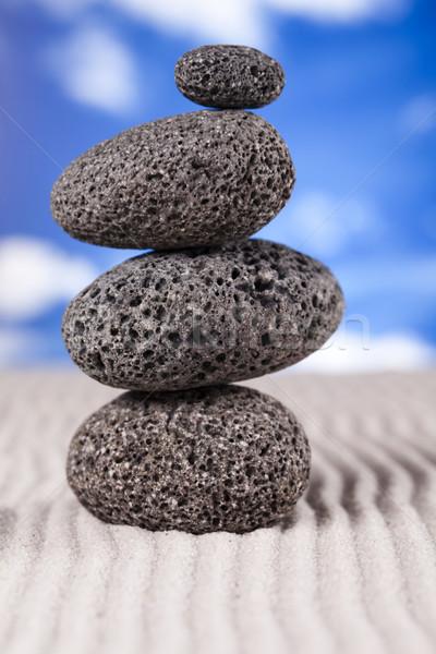 Zen stone  Stock photo © JanPietruszka